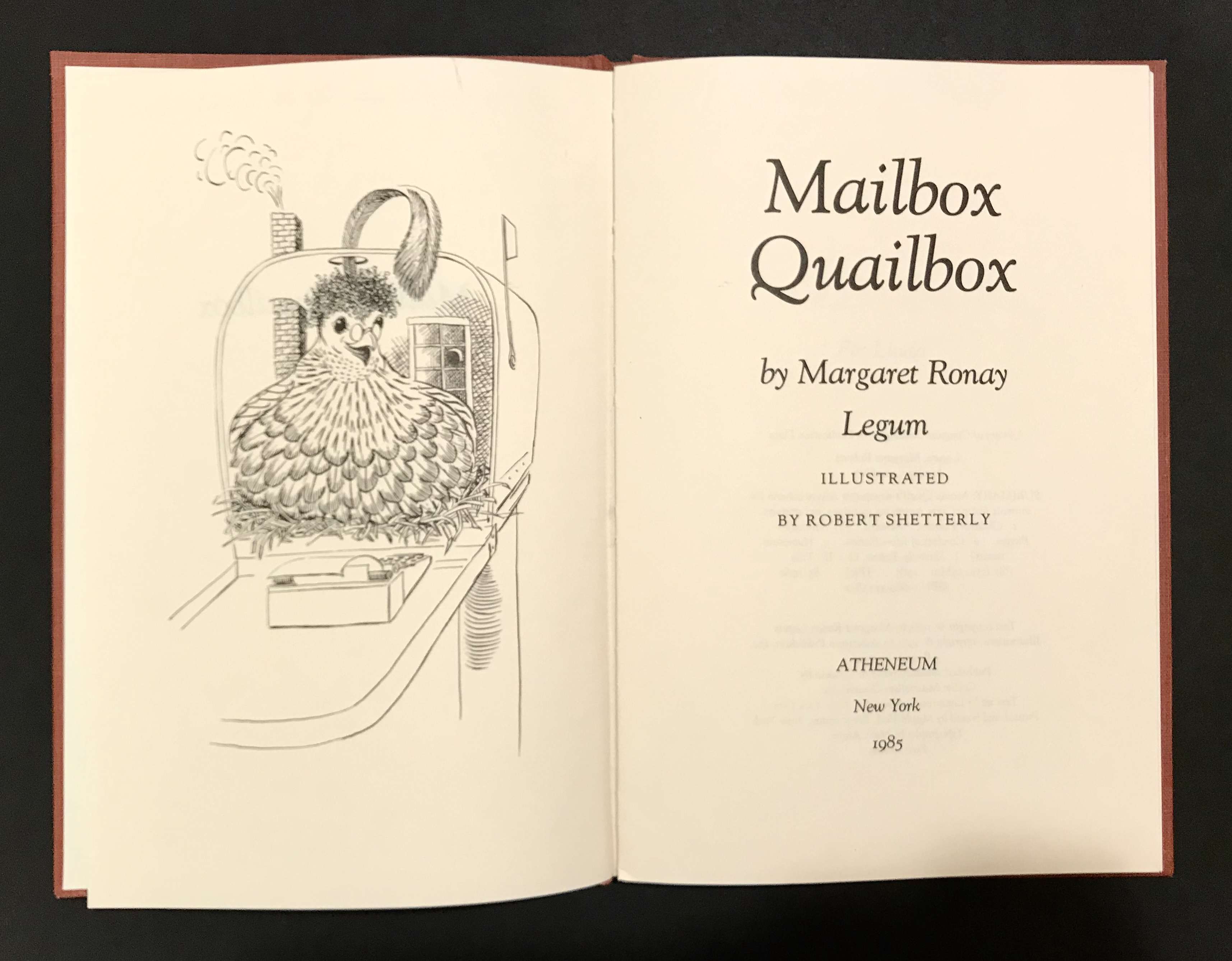 Mailbox Quailbox